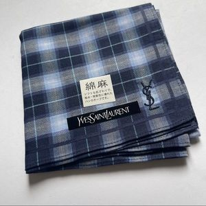Yves Saint Laurent monogram handkerchief s…